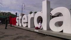 Amsterdam BRoll -  Iamsterdam Stock Footage