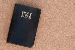 holy bible - stock photo