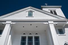 purvis chapel ame zion church - stock photo