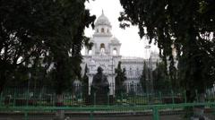 Hyderabad, India B Roll-3-Landmark Building Stock Footage