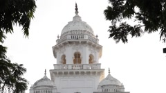 Hyderabad, India B Roll-Pan of Landmark building Stock Footage
