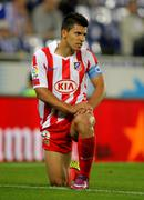 Kun Aguero of Atletico Madrid Stock Photos
