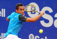 Spanish tennis player Nicolas Almagro Stock Photos