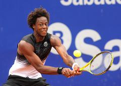 French tennis player Gael Monfils - stock photo