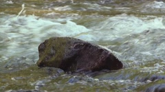 Close up of rushing stream 4 Stock Footage