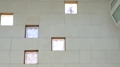 Poolside Windows - stock footage