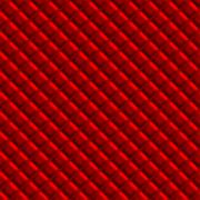 Red padded upholstery pattern illustration that tiles seamlessly in any direc Stock Illustration