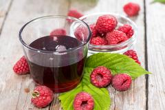 raspberry treacle - stock photo