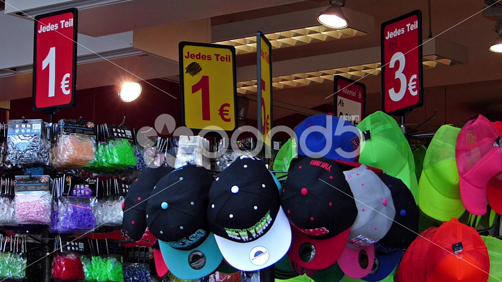 cheap one euro shop blooming in european cities munich