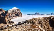Stock Photo of italian alps - group togfana