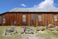 Bodie California Ghost Town Gold Rush Stock Photos