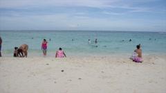 Sea of Riviera Maya Playa del Carmen Mexico Stock Footage