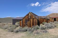 Bodie California Ghost Town Gold Rush - stock photo