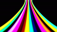 Disco Abstract Colorful Waves 25 Stock Footage