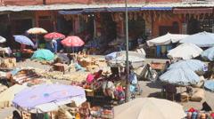 Place Rahba Kedima in Marakkesh Stock Footage