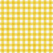 Bright yellow gingham pattern repeat background Stock Illustration