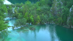 Plitivice Lakes National Park, Croatia Stock Footage