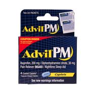 Advil pm pail reliever Stock Photos