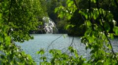 Plitivice Lakes National Park, Croatia - Slow motion Stock Footage