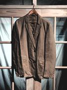 mens dress jacket on hanger - stock photo