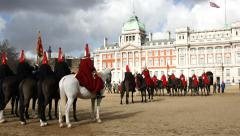 Horseguards' Parade, London Stock Footage