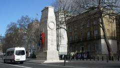 The Cenotaph, London - stock footage