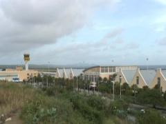 Curacao International Airport 1 Stock Footage