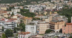 Jm1336-Sorrento Italy Town Medium Stock Footage