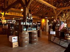 spirits tasting room - stock photo