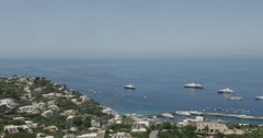 Jm1361-Capri Italy Seaside2 Stock Footage