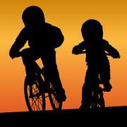 Bmx riders Piirros