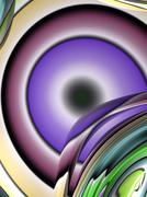 Abstract Eye Stock Illustration