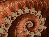 Stock Illustration of Copper fractal