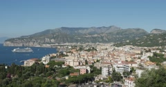 Jm1358-Sorrento Italy Wide5 Stock Footage