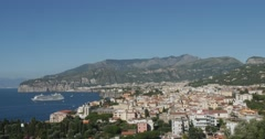 Jm1357-Sorrento Italy Wide4 Stock Footage