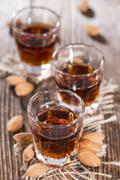 Stock Photo of amaretto shot