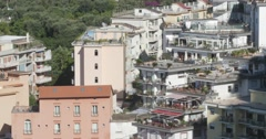 Jm1351-Sorrento Italy Town Close2 Stock Footage