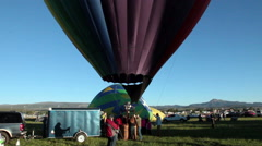 Videographer videoing balloons-C6-HD P-4173 Stock Footage