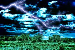 Awesome skyscape Stock Photos