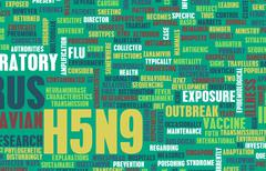 H5n9 Stock Illustration