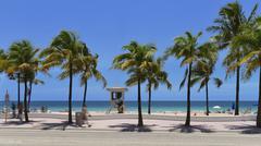 Fort lauderdale beach Kuvituskuvat
