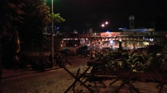 A bridge near Maidan independence square Stock Footage