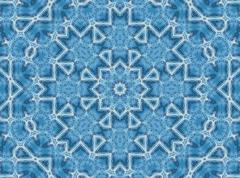 abstract jeans pattern - stock illustration