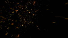 Explosions Light Stars | Particle Effects Stock Footage