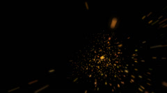 Explosions Small (2) | Particle Effects - stock footage
