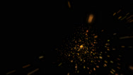 Stock Video Footage of Explosions Small (2) | Particle Effects