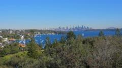Watsons Bay, South Head, Sydney 4k Stock Footage