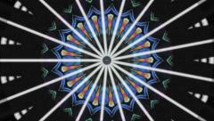 Kaleidoscope From The Seventies - stock footage