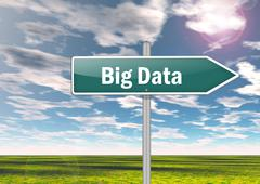 Signpost big data Piirros