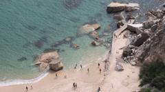 Nazaré Beach Stock Footage